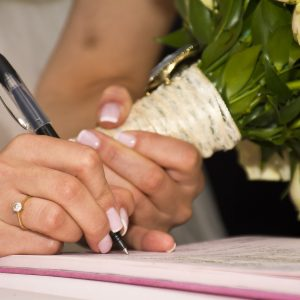 La paperasse à fournir pour se marier civilement.