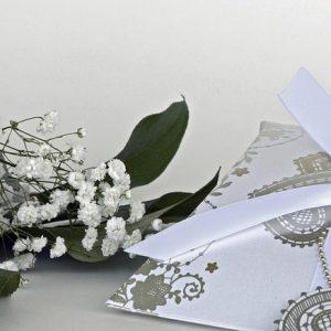 Penser au billet d'invitation pour votre mariage.